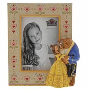 Cadre la Belle et la Bête (18cm)– Disney Traditions