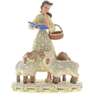 Disney Traditions Bookish Beauty (Belle with Sheep Figurine) 21.0cm