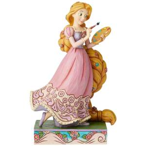 Adventurous Artist, Figurine Raiponce Passion Princesse (19 cm) – Disney Traditions