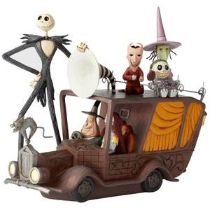 Figurine Voiture du maire (17 cm), L'Étrange Noël de monsieur Jack, Enesco – Disney Showcase Collection