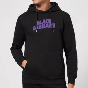 Black Sabbath Logo Hoodie - Black