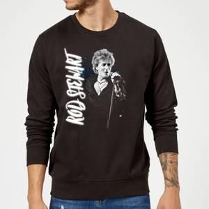 Rod Stewart Poster Sweatshirt - Schwarz