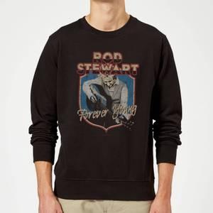 Rod Stewart Forever Young Sweatshirt - Black