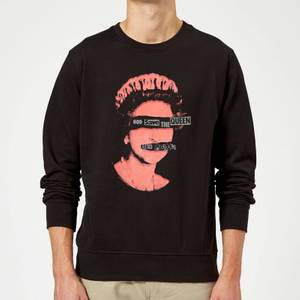 Sex Pistols God Save The Queen Sweatshirt - Black