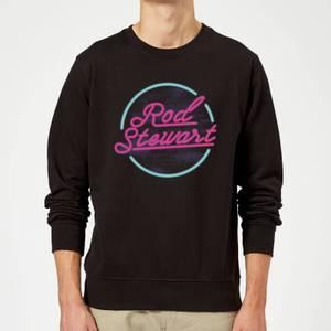 Rod Stewart Neon Sweatshirt - Black