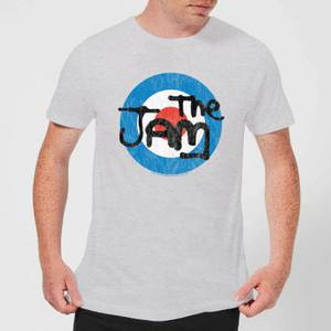 The Jam Target Logo Men's T-Shirt - Grey