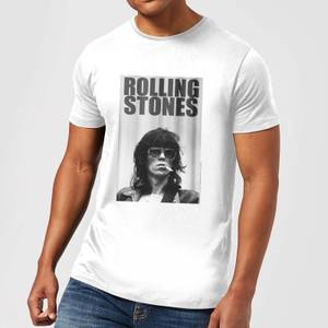 Rolling Stones Keith Smoking Men's T-Shirt - White