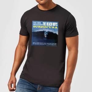 The Beach Boys Surfin USA Herren T-Shirt - Schwarz