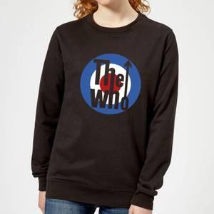 The Who Target Women's Sweatshirt - Black