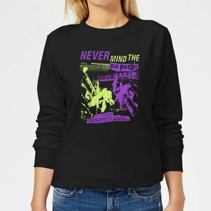 Sex Pistols Japan Tour Women's Sweatshirt - Black