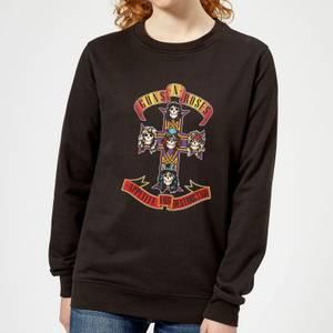 Guns N Roses Appetite For Destruction Women's Sweatshirt - Black