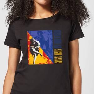 Guns N Roses Use Your Illusion Women's T-Shirt - Black