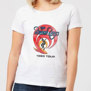 The Beach Boys Surfer 83 Women's T-Shirt - White