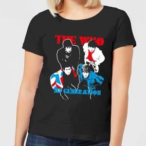 The Who My Generation Women's T-Shirt - Black