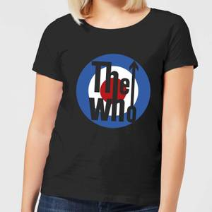 The Who Target Damen T-Shirt - Schwarz