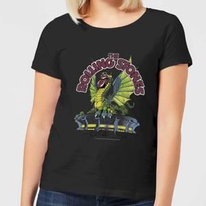 Rolling Stones Dragon Tongue Damen T-Shirt - Schwarz