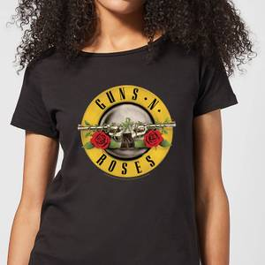 Guns N Roses Bullet Women's T-Shirt - Black