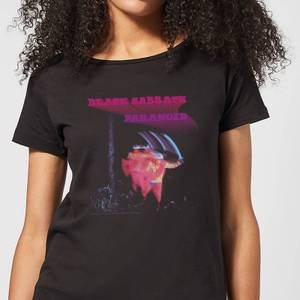 Black Sabbath Paranoid Women's T-Shirt - Black