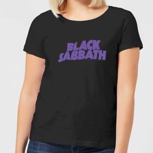 Black Sabbath Logo Women's T-Shirt - Black
