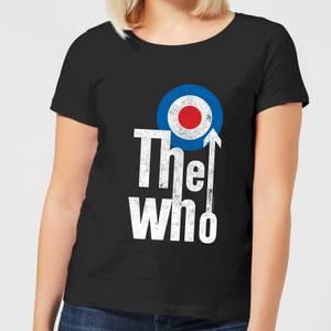 The Who Target Logo Women's T-Shirt - Black
