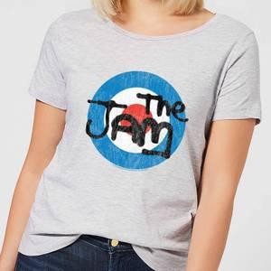 The Jam Target Logo Women's T-Shirt - Grey