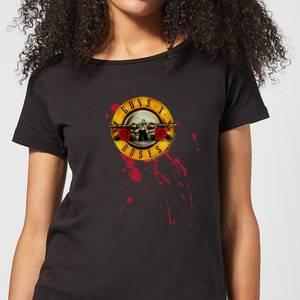 Guns N Roses Bloody Bullet Women's T-Shirt - Black