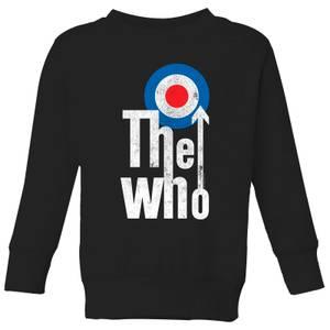 The Who Target Logo Kids' Sweatshirt - Black