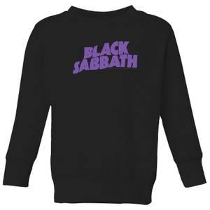 Black Sabbath Logo Kids' Sweatshirt - Black