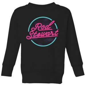 Rod Stewart Neon Kids' Sweatshirt - Black