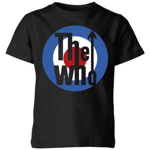 The Who Target Kids' T-Shirt - Black