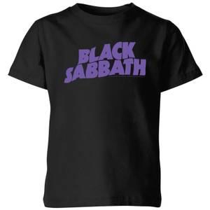 Black Sabbath Logo Kids' T-Shirt - Black