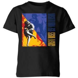 Guns N Roses Use Your Illusion Kids' T-Shirt - Black