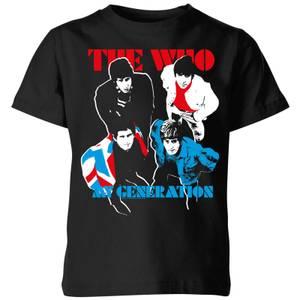 The Who My Generation Kids' T-Shirt - Black