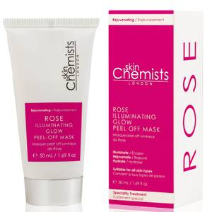 skinChemists Rose Illuminating Glow Peel-Off Mask 50ml