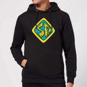 Scooby Doo Emblem Hoodie - Black