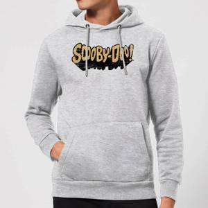 Scooby Doo Retro Colour Logo Hoodie - Grey
