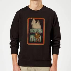 Scooby Doo Retro Ghostie Sweatshirt - Black