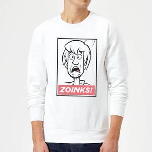 Scooby Doo Zoinks! Sweatshirt - White