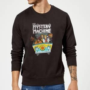 Scooby Doo Mystery Machine Heavy Metal Sweatshirt - Black