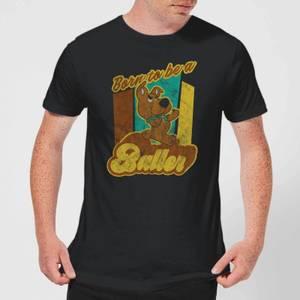 Scooby Doo Born To Be A Baller Men's T-Shirt - Black