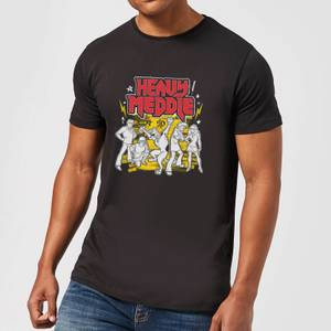 Scooby Doo Heavy Meddle Men's T-Shirt - Black