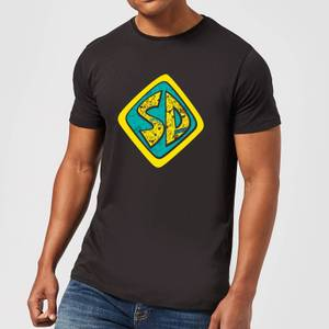 Scooby Doo Emblem Men's T-Shirt - Black
