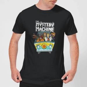 Scooby Doo Mystery Machine Heavy Metal Men's T-Shirt - Black
