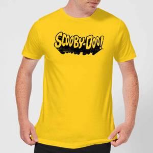 Scooby Doo Retro Mono Logo Men's T-Shirt - Yellow