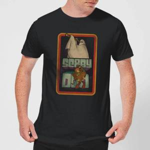 Scooby Doo Retro Ghostie Men's T-Shirt - Black