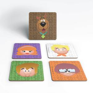 Scooby Doo Emoji Coaster Set