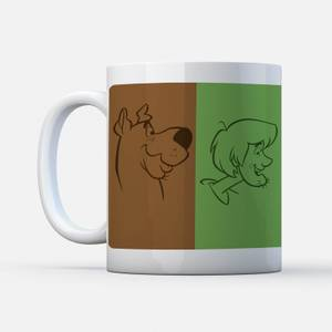 Scooby Doo The Gang Colours Mug