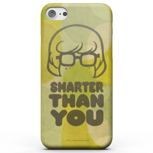 Cover telefono Scooby Doo Smarter Than You per iPhone e Android
