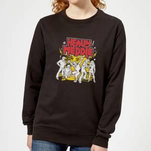 Scooby Doo Heavy Meddle Women's Sweatshirt - Black