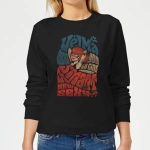 Scooby Doo Smart Is The New Sexy Women's Sweatshirt - Black